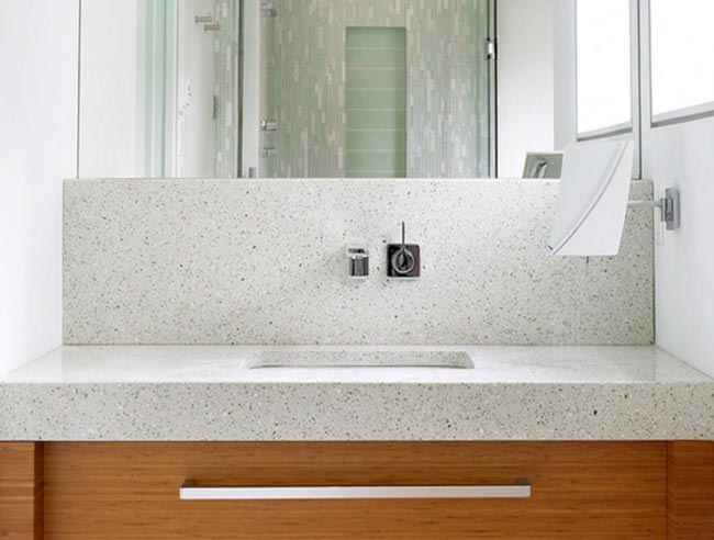 Great IceStone Recycled Glass Counters