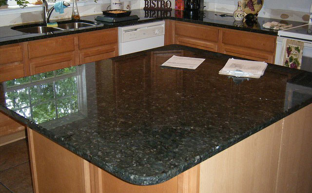 Charmant Granite Countertop Island
