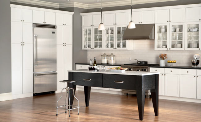 St louis mid continent cabinetry dealer lifestyle - Mid continent cabinets ...